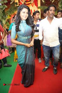 Actress Anupama Parameswaran Stills in Stylish Saree at Shatamanam Bhavathi Audio Launch  0069.JPG