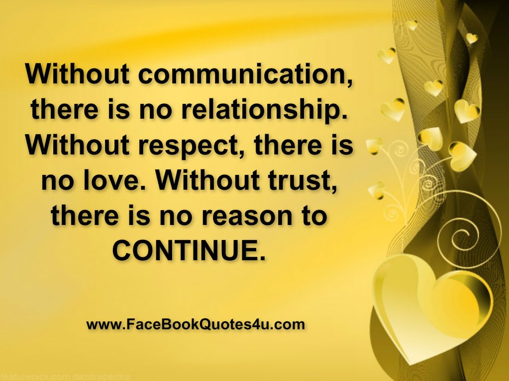 no relationship without communication quotes and sayings