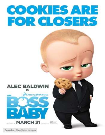 The Boss Baby 2017 Hindi Dual Audio  Full Movie Download
