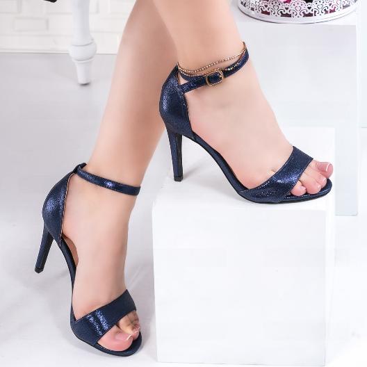 Sandale dama cu toc bleomarin pentru evenimente speciale
