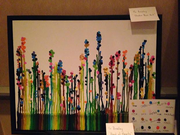 Anstey' Class Grade 1 Auction Art Project