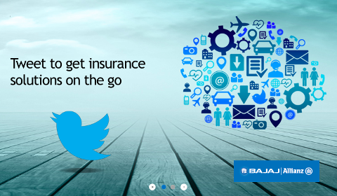 TweetInsurance Bajaj Allianz
