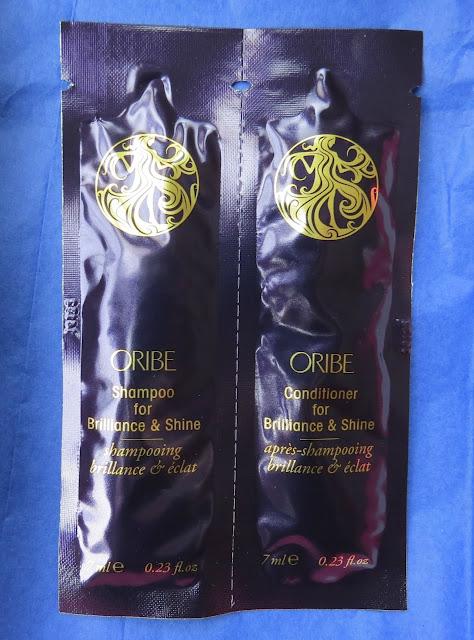 Oribe Shampoo and Conditioner for Brilliance & Shine