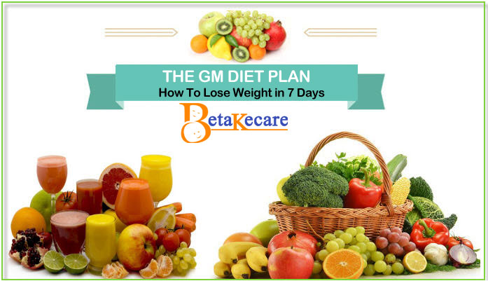 The GM Diet: How to Lose Weight Fast and Effectively