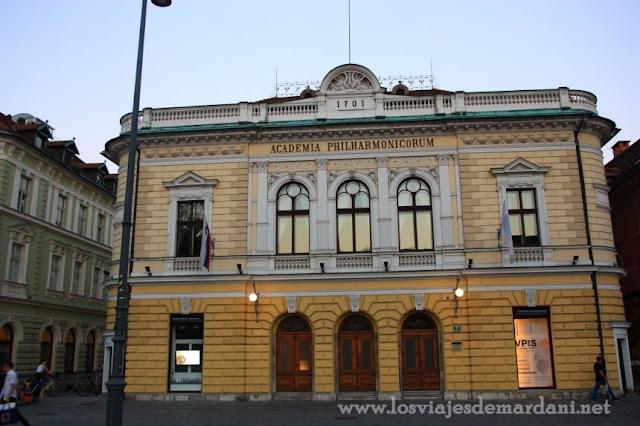Palacio de la Filarmónica Eslovena