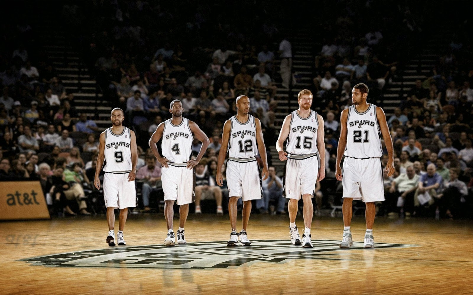 C A T San Antonio Spurs 2014 Starting Lineup Nba Hd Desktop Wallpaper