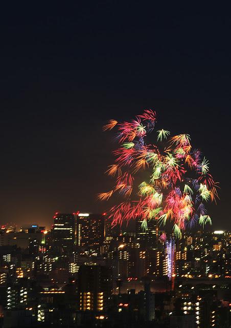 Sumidagawa Hanabi Taikai (fireworks display), Tokyo