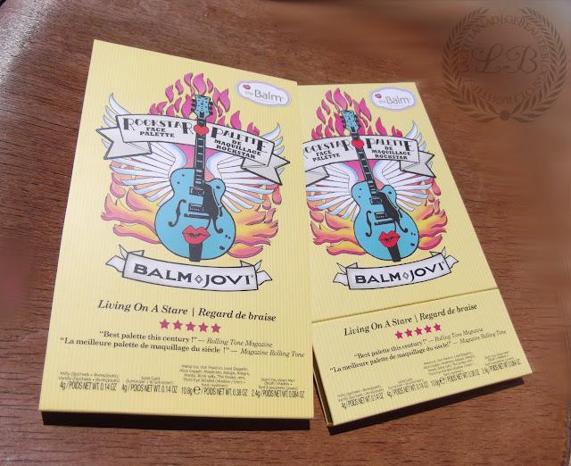 THE BALM COSMETICS - Balm Jovi Rockstar Eyeshadow and Face Palette