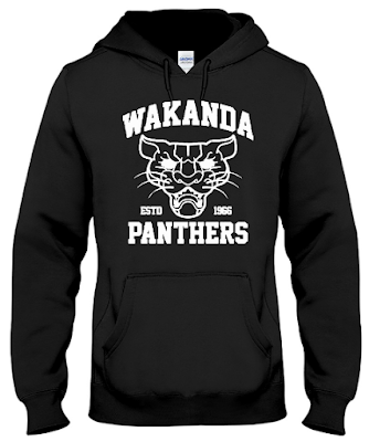 Wakanda Wear and Wakanda Panthers T Shirt Hoodie Sweatshirt