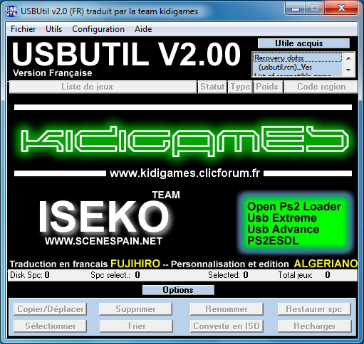 Usb util ps2 Download