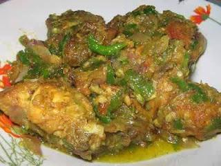 Resep Ayam Balado Hijau