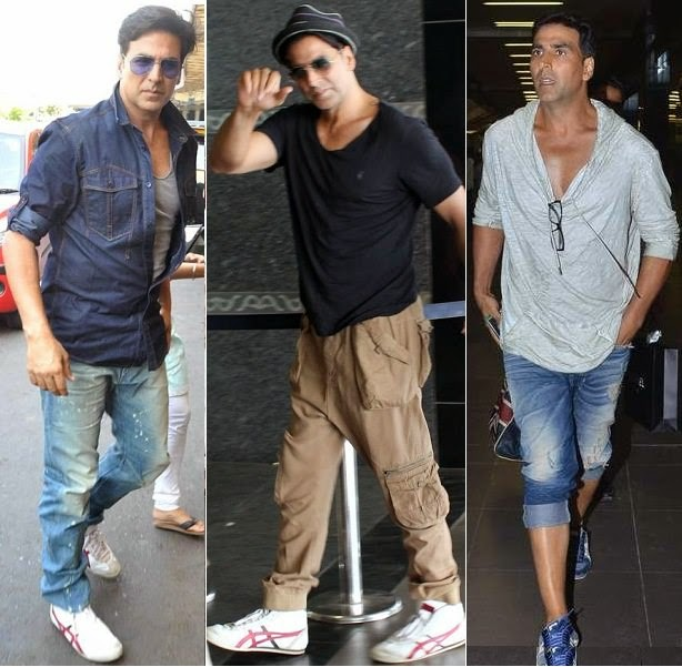 Akshay kumar in casual airport style