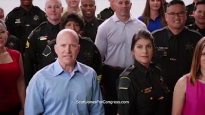 Jones Responds to Bera TV Spot, Releases 'Know Scott' Commercial