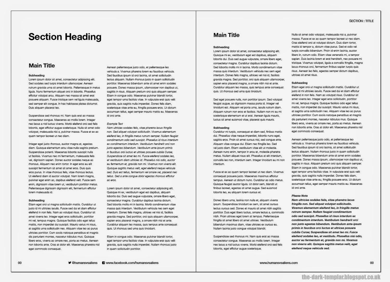 The Dark Templar: How To Design A Rulebook – Templates