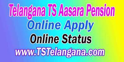Telangana TS Aasara Pension Scheme Status Full Details