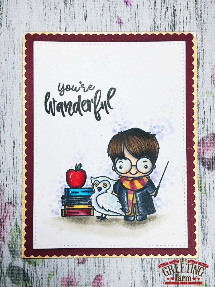 Inky fairy designs the greeting farm october new release preview were back for day 2 of the greeting farm october previews and you are going to love todaypecially if you are a fan of harry potter m4hsunfo