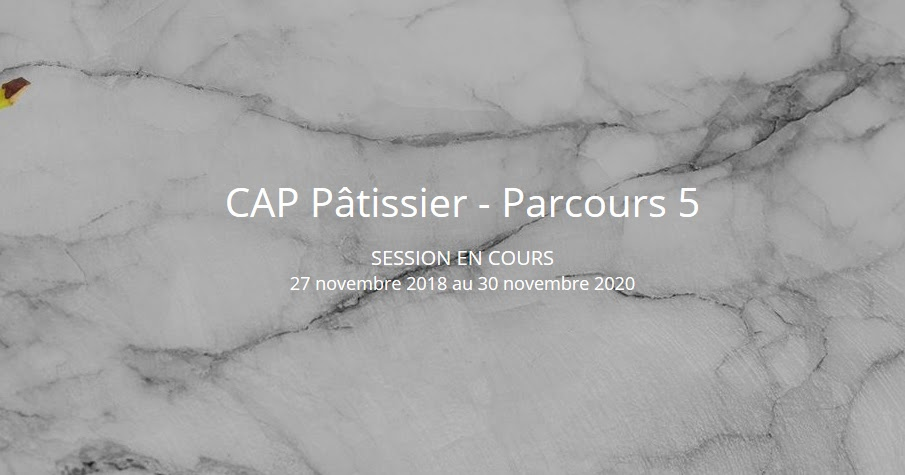 Un Blog De Fille L Atelier Des Chefs Preparer Le Cap Patissier