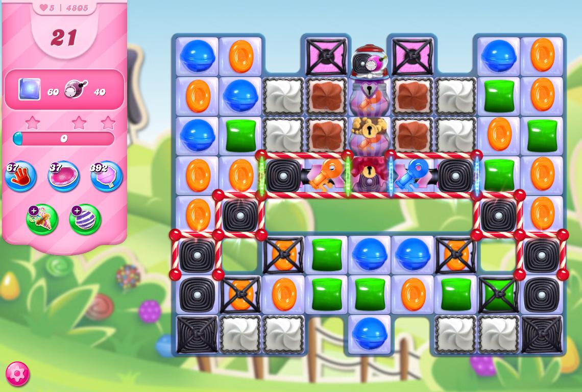 Candy Crush Saga level 4805