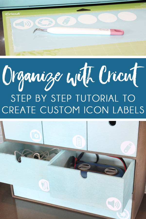 Organize with Cricut - How to Cut Labels on Cricut