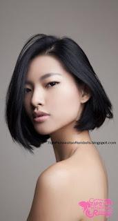 rambut wanita korea pendek
