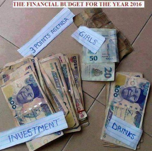 financial budget 2016