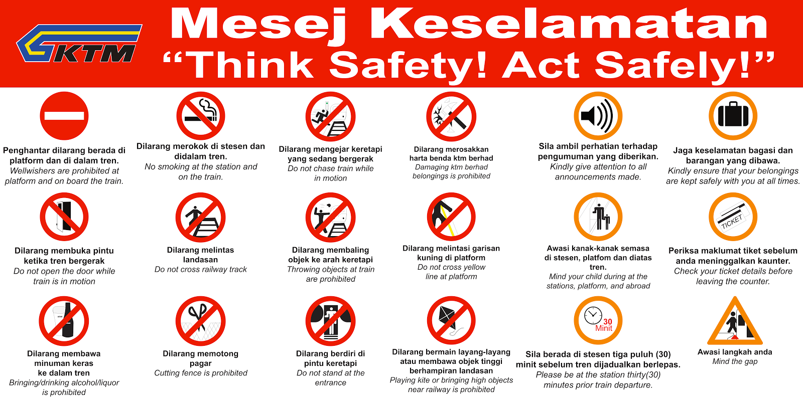 KTMB Safety Campain
