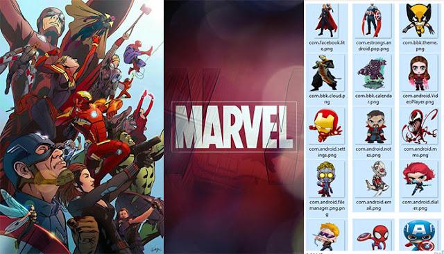 Marvel Theme itz For Vivo