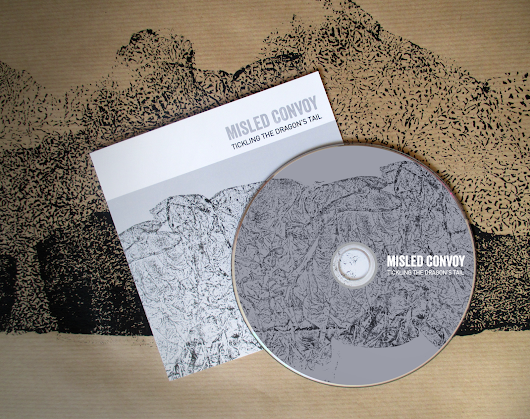 MISLED CONVOY // Logo and album design
