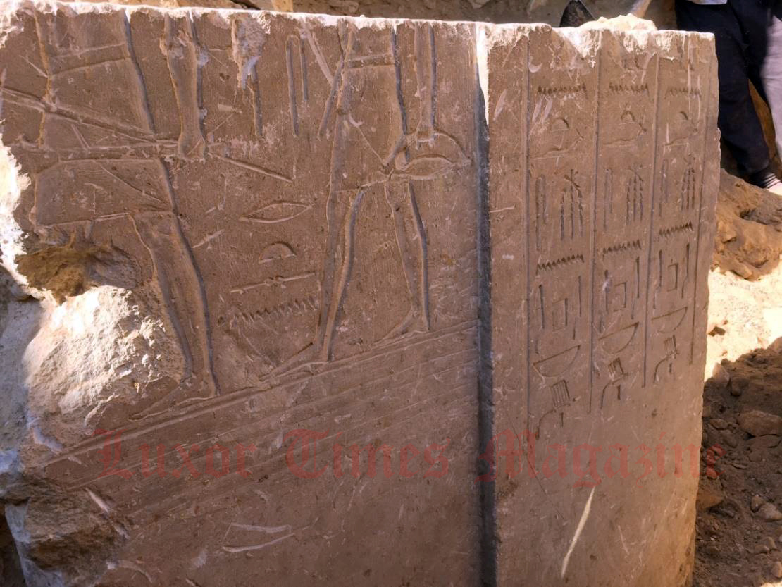 The space archaeologist unearthed 4000 years old tomb in Egypt