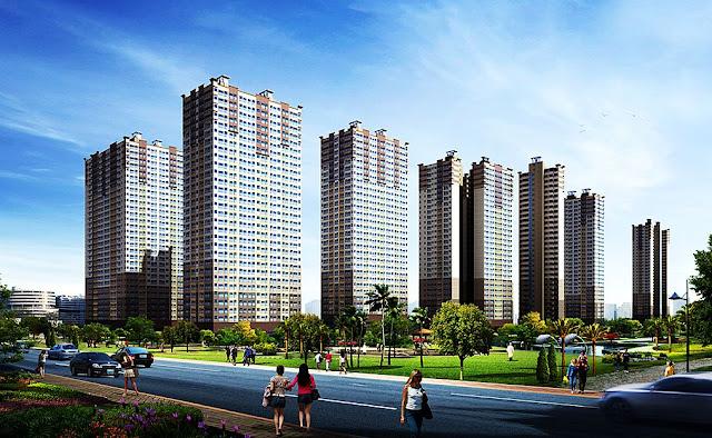 Toàn cảnh dự án chung cư quốc tế Booyoung Vina