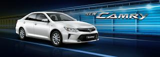 Spesifikasi dan harga Toyota Camry 2018