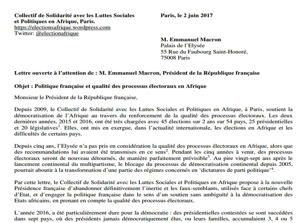 open letter to emmanuel macron lettre ouverte À emmanuel macron