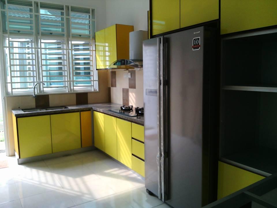 Kabinet Dapur Melaka Desainrumahid Com