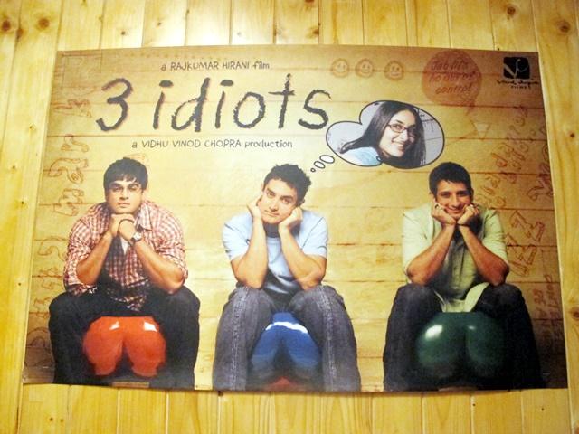 三個傻瓜電影海報
