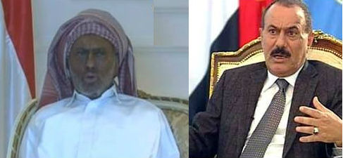 بساط الريح تعليقات الفيسبوك علي ظهور عبدالله صالح رئيس اليمن