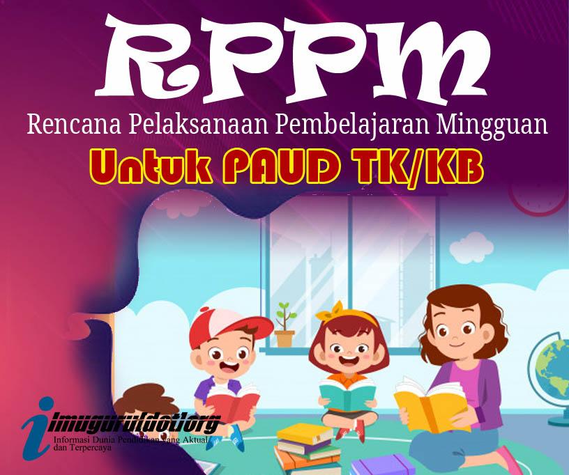 RPPM 1 Lembar TK B Usia 5-6 Tahun