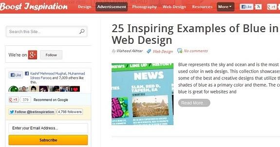 Web Design Tutorss 20 Examples Of Fixed Floating Jquery Css Menu Bars In Web Design Inspiration