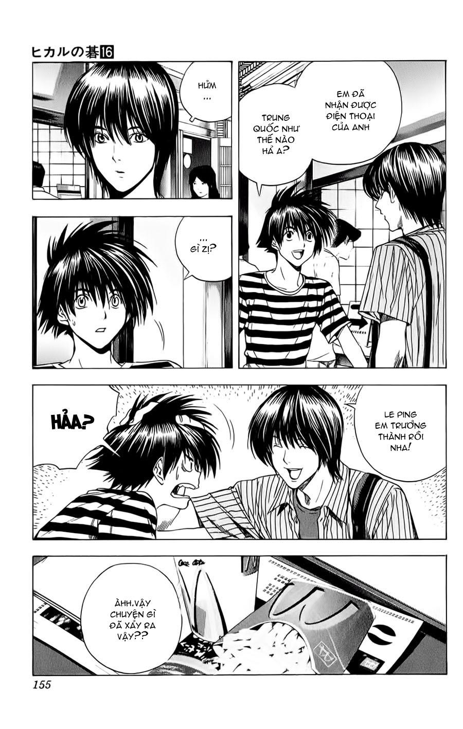 Hikaru No Go hikaru no go chap 138 trang 2