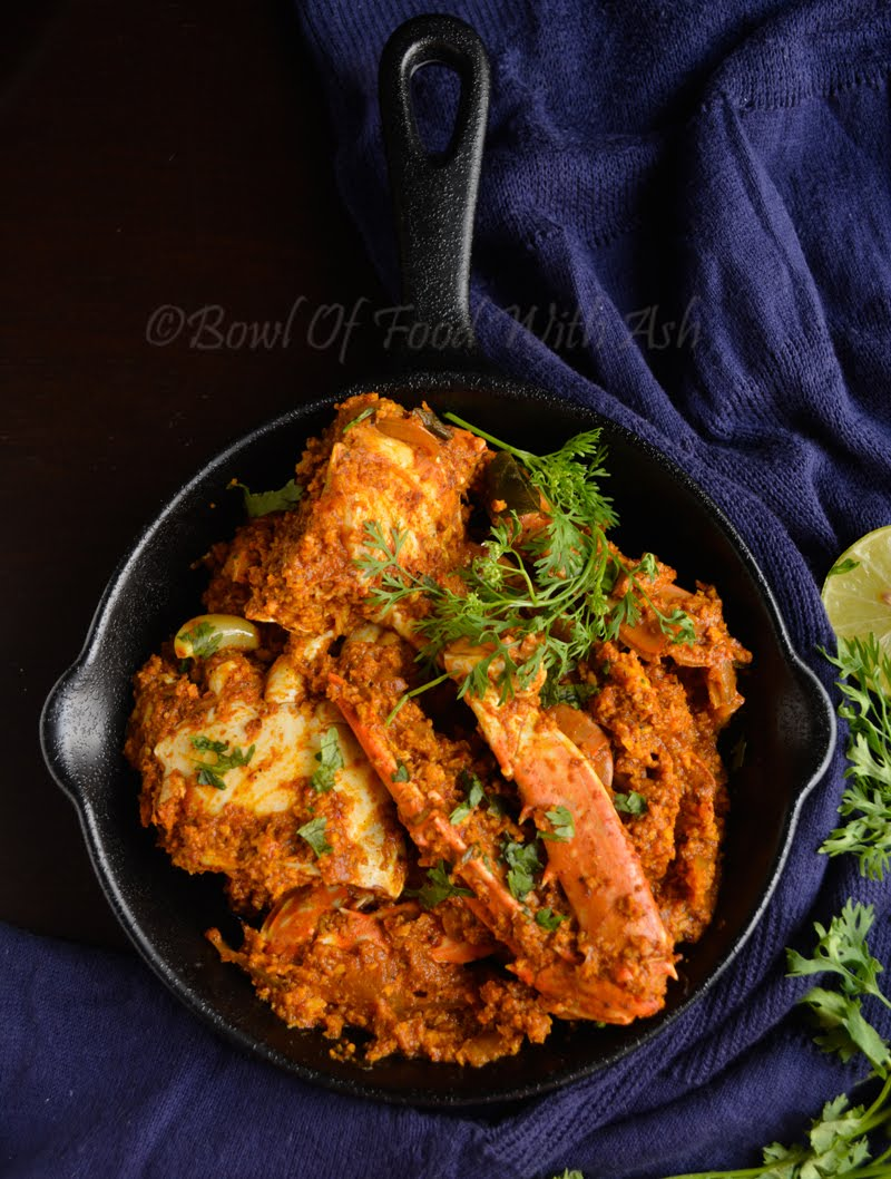 Crab Sukka Recipe | How To make Mangalore Style Crab Sukka