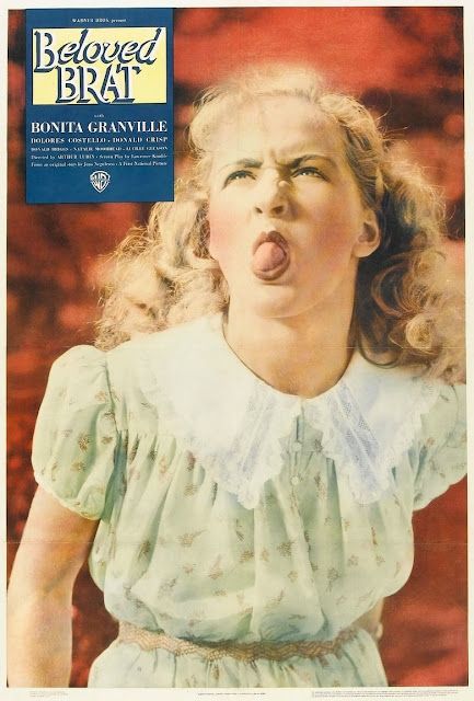 The Beloved Brat (1938) poster with Bonita Granville