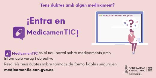 Sanidad lanza 'MedicamenTIC', un portal de información sobre medicamentos dirigido a la ciudadanía