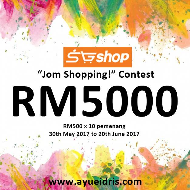 SGshop, Mama Darwiish, Ayue Idris, SGshop Jom Shopping Contest, Rawlins GLAM, Contest, byrawlins,