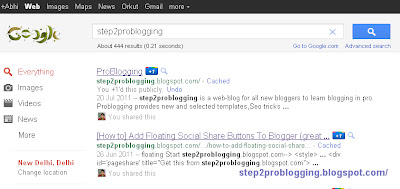 [How to] Add new style google search bar to blogger blog [Tutorial]