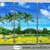 Quadri stampa su tela, bellissimo paesaggio naturale
