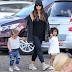 Kim Kardashian takes North and Penelope Easter egg hunting