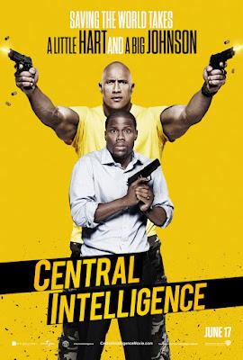 Central Intelligence Poster