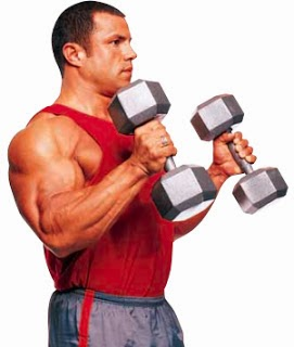 تمارين تضخيم عضلات الباى