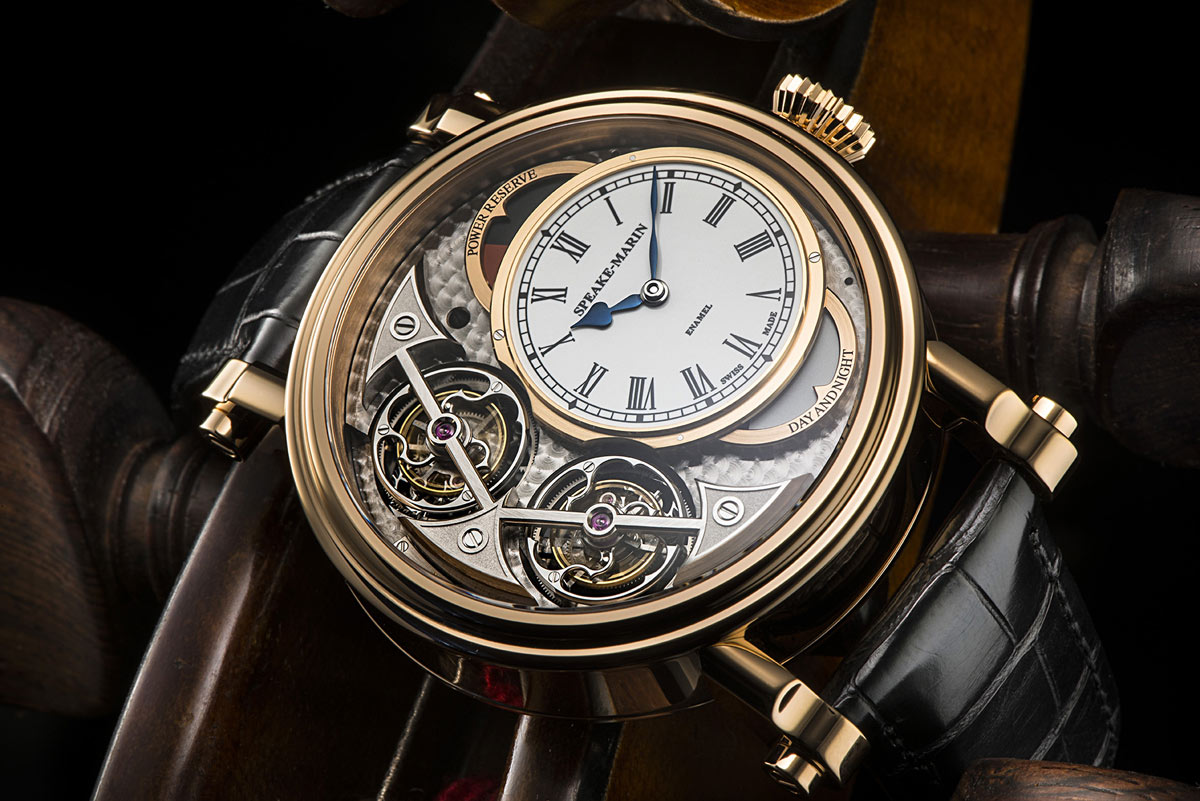 Speake Marin Magister Vertical Double Tourbillon Time