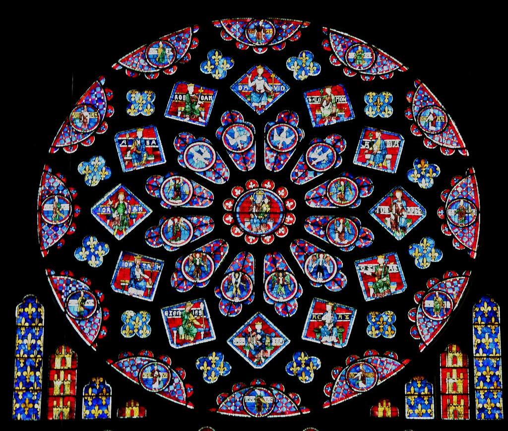 The brilliance of modern stained glass windows   Crystal Edges   Stained Glass Windows