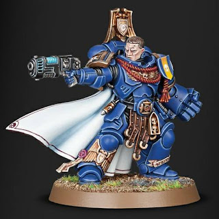 Capitán Primaris de los Space Marines